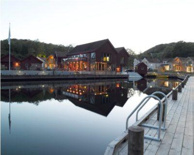 visvakantie noorwegen farsund resort