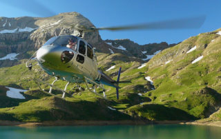 helicopter vissen spanje