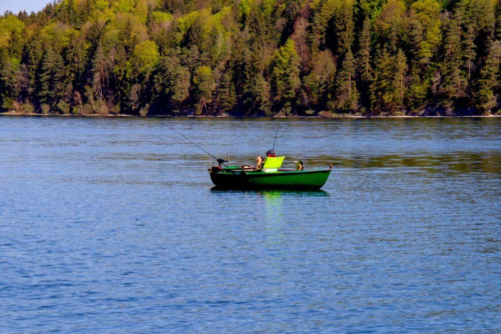 visvakanties met boot