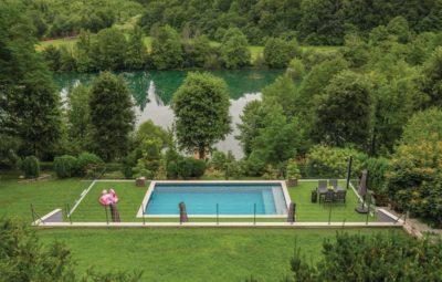 vissen kroatie huis met zwembad