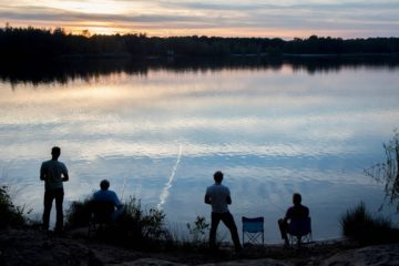 vissen op het vicoriameer