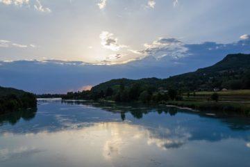 vissen op de Rhône