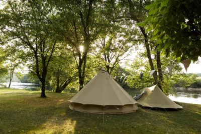 vissen op camping le clos bouyssac