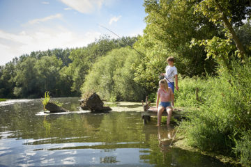vissen op de Saône
