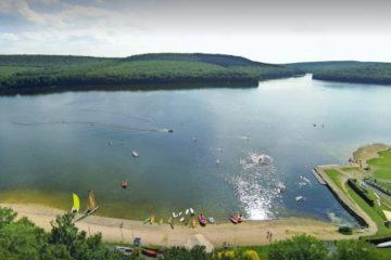 vissen op Lac De Vieilles Forges