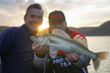 vissen op de Edersee