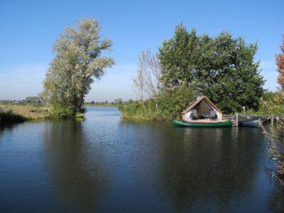 vissen op de Utrechtse Vecht