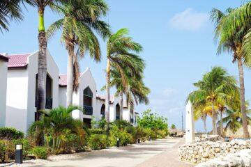 vissen op Van der Valk Plaza Island Residence Bonaire